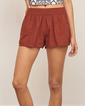ANF Linen Soft Shorts