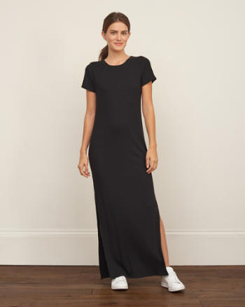 Womens Drapey Maxi Dress