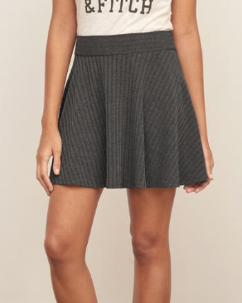 ANF Ribbed Knit Skirt