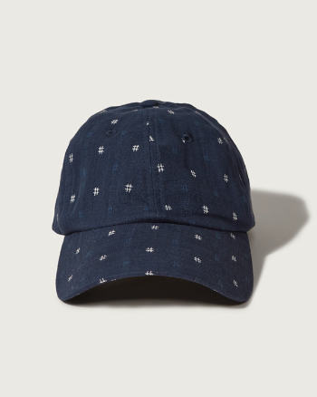 Mens Textured Cap