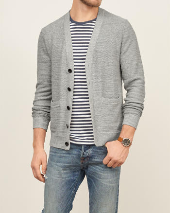 ANF Cotton Cardigan