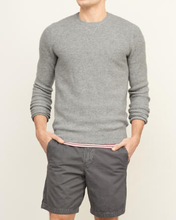 Mens Cashmere Crew Sweater