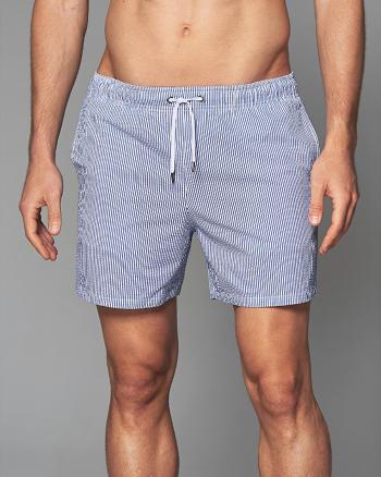 "ANF 5"" Guard Fit Swim Shorts"