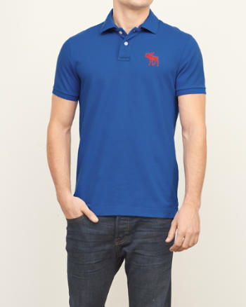 Mens Big Icon Polo