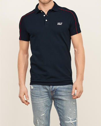 ANF Modern Athletic Polo