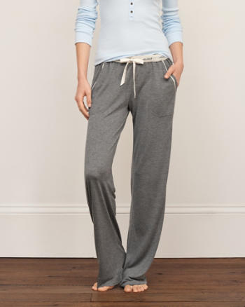 Womens Knit Sleep Pants