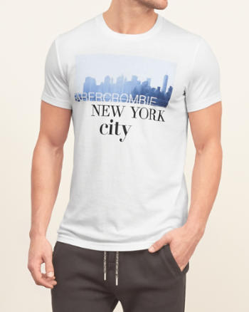 Mens New York Graphic Tee