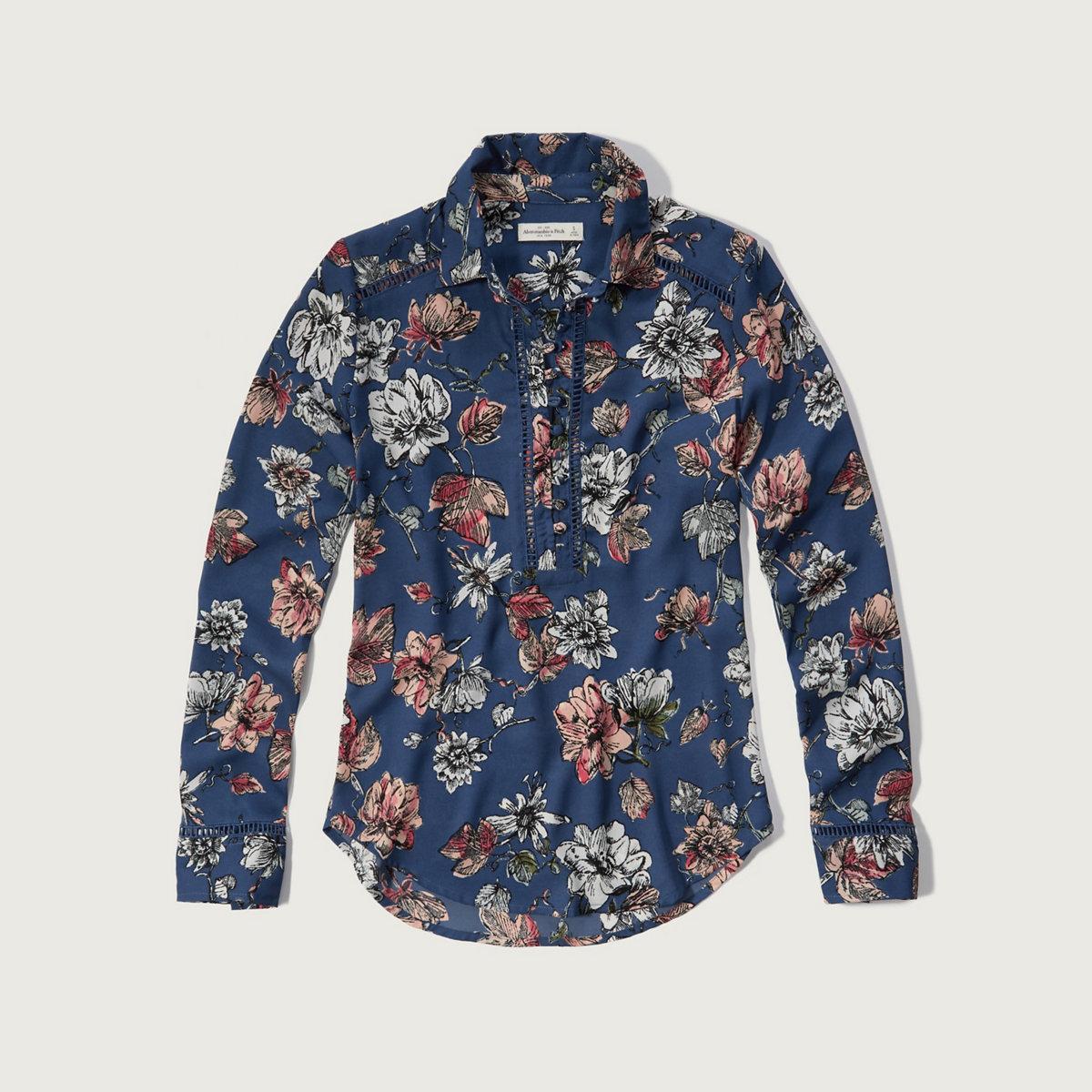 Drapey Pullover Shirt