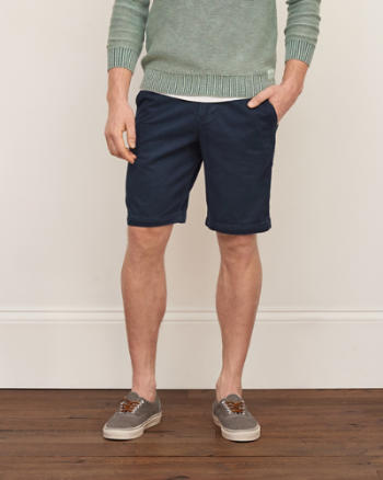 Mens Classic Fit Stretch Shorts