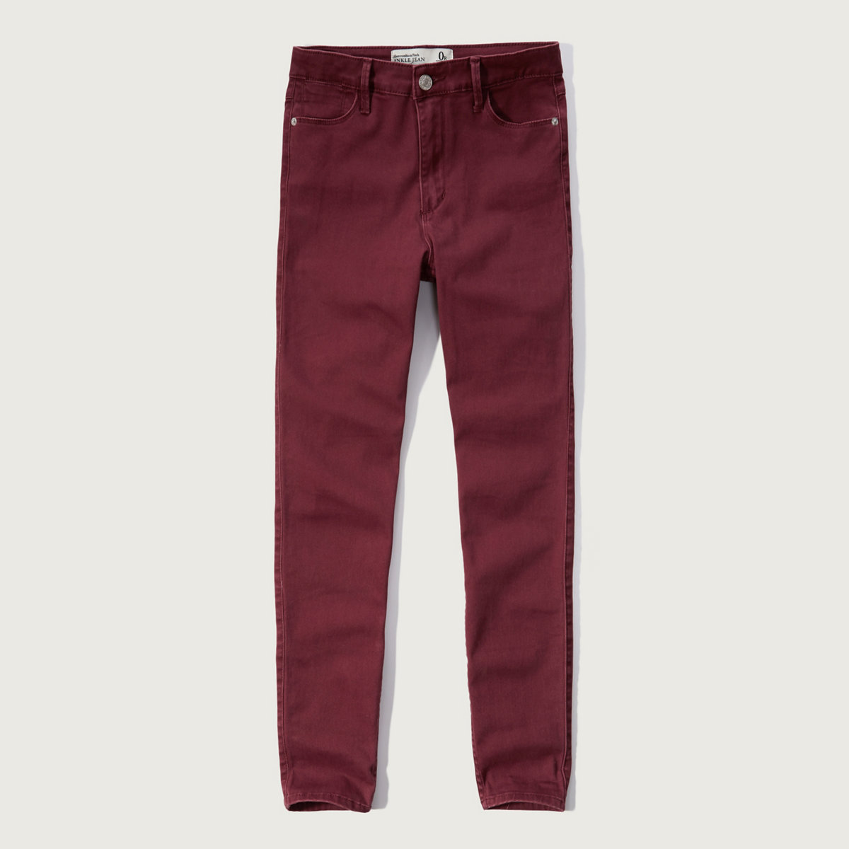 High Rise Super Skinny Ankle Pant