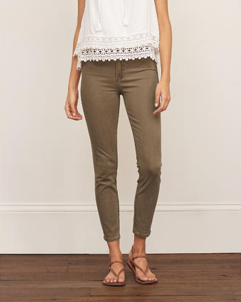 ANF High Rise Super Skinny Ankle Pant