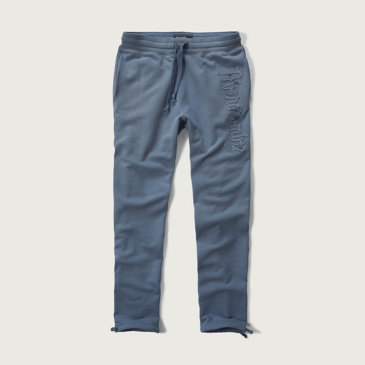 Classic Logo Applique Sweatpants