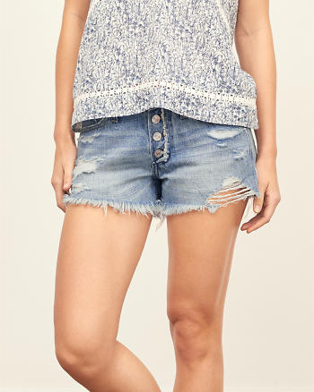 ANF Low Rise Boyfriend Shorts