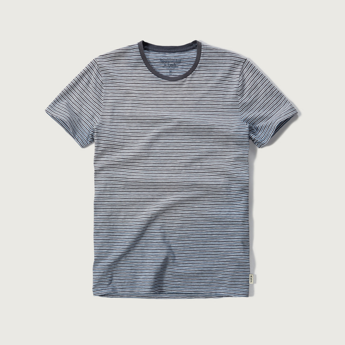 Washed Effect Stripe Tee