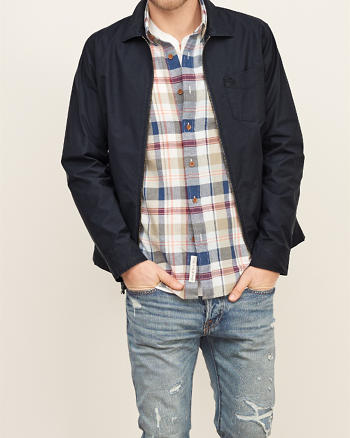 ANF Unlined Shirt Jacket