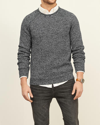 ANF Space Dyed Crew Sweater