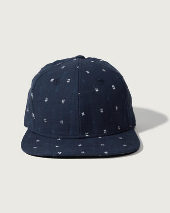 ANF Logo Flat Brim Hat