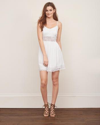 ANF Lace Skater Dress