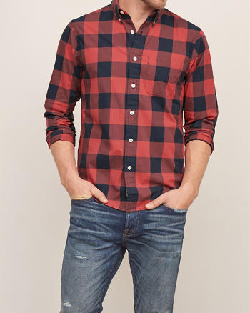 ANF Buffalo Check Shirt