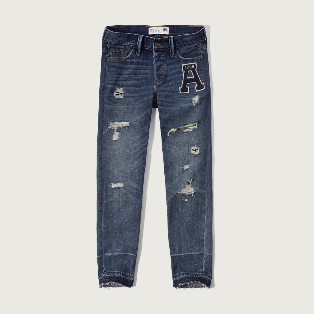 Straight Boyfriend Jeans