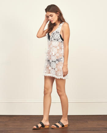 ANF Lace Swim Cover Up