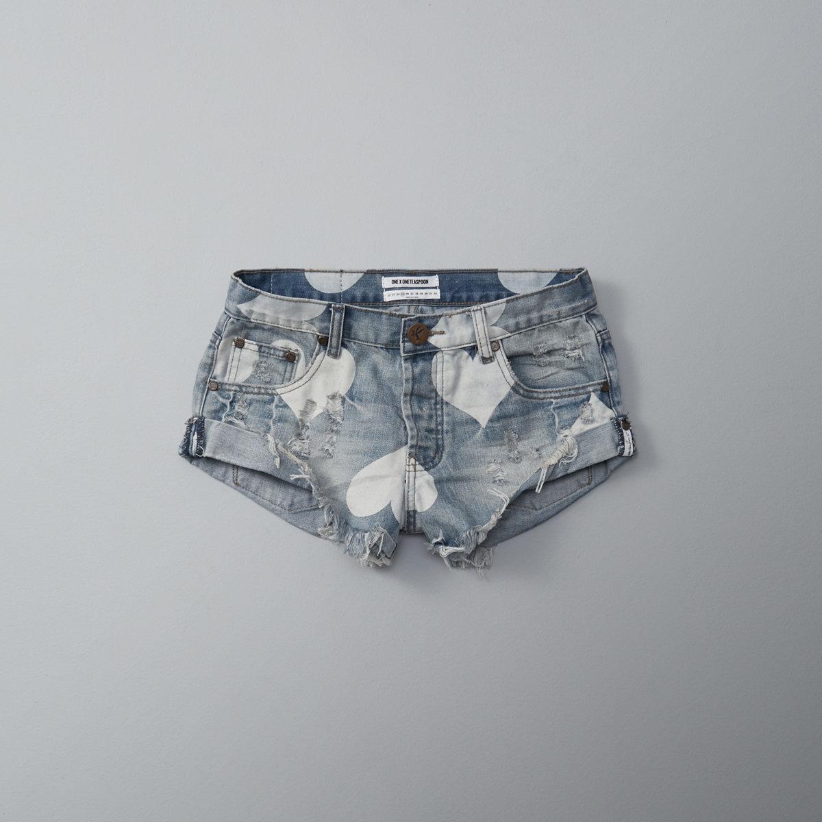 One Teaspoon Cupid Bandits Shorts