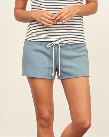 ANF Fleece Cutoff Short