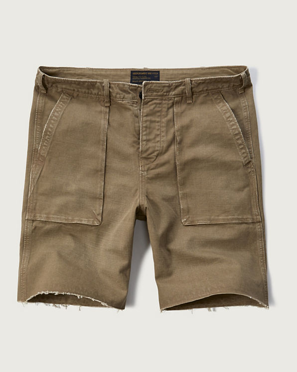 Mens Utility Shorts | Mens Clearance | Abercrombie.com