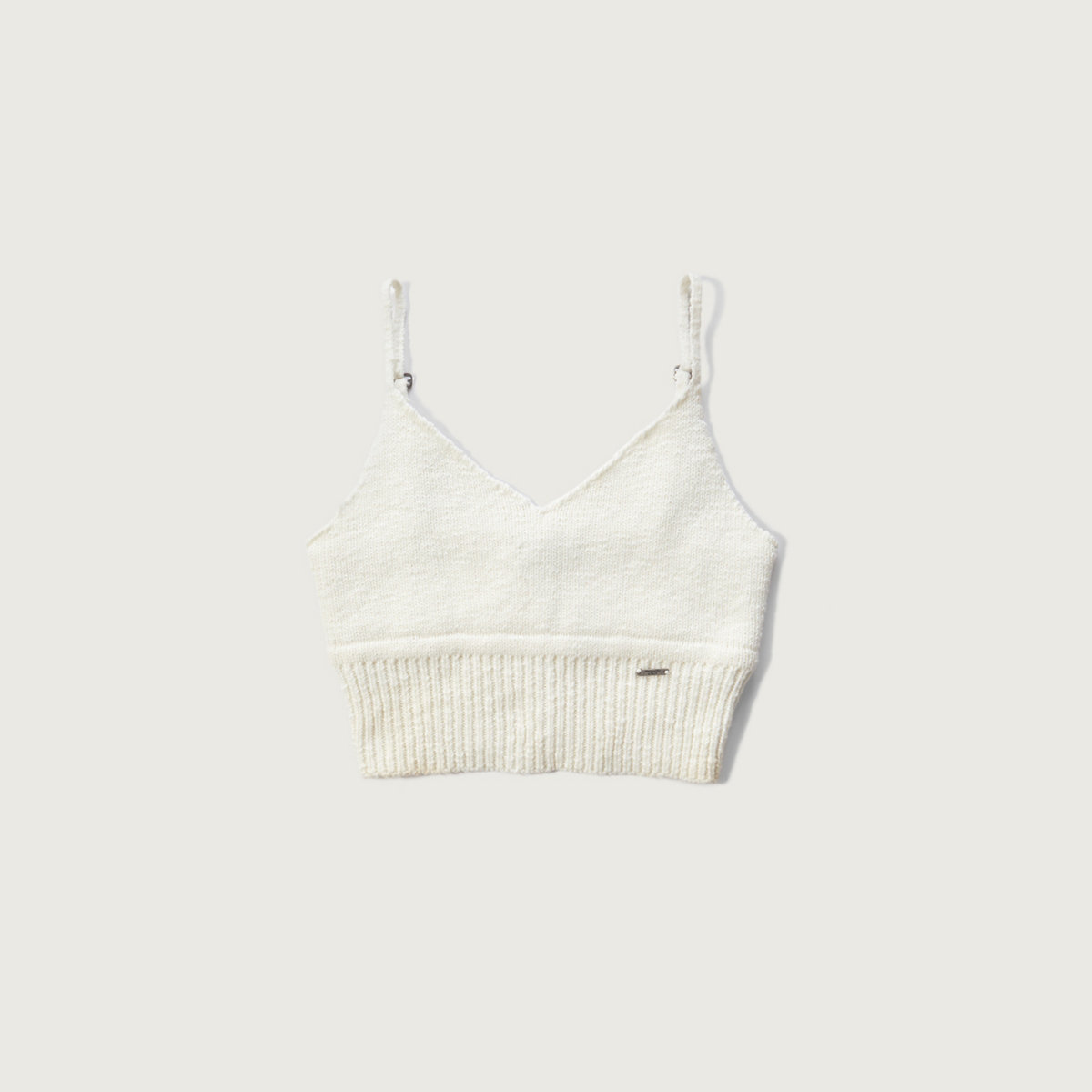 Knit Longline Bralette Top