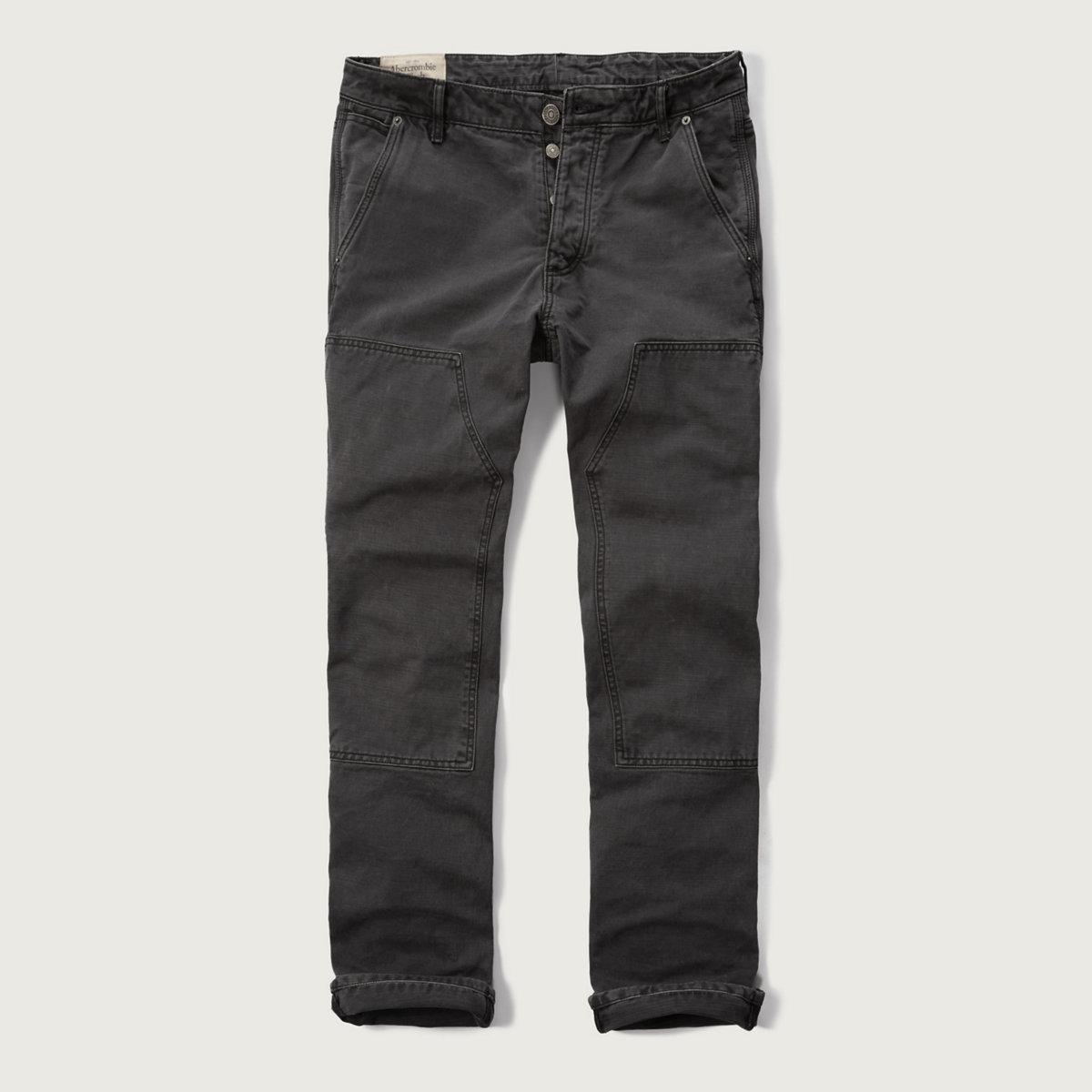 Washed Carpenter Chino Pants