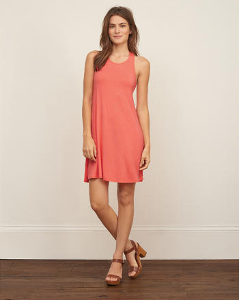 ANF Easy Twist Back Dress