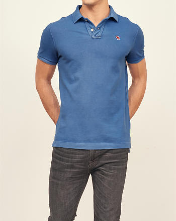 ANF Classic Fit New Icon Polo