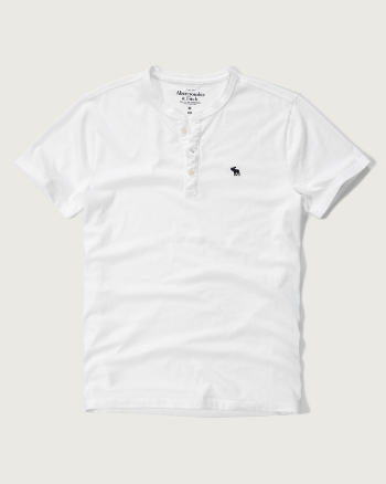 Mens Classic Fit Henley