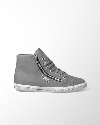 ANF Superga Cotdu Zipper Hi-Top Sneaker