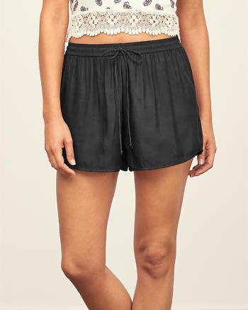 ANF Drapey Satin Shorts