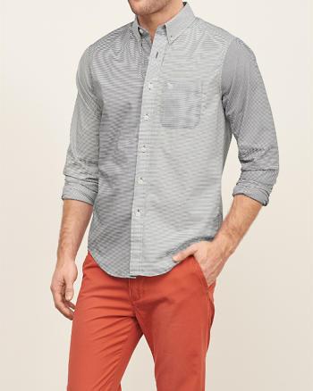 ANF Mixed Pattern Shirt