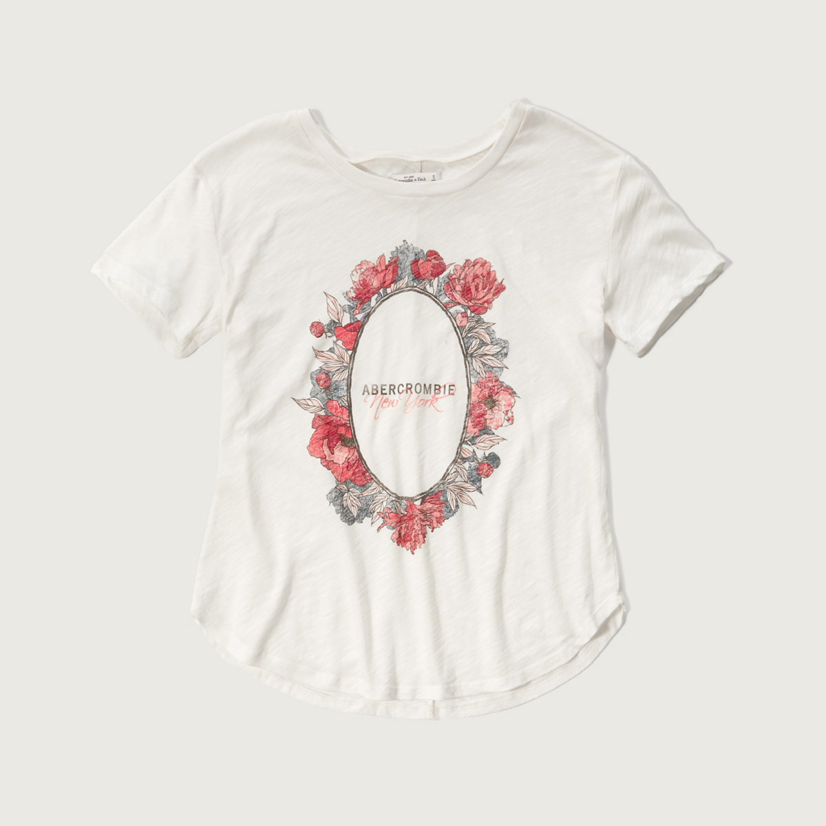 Floral Logo Graphic Tee