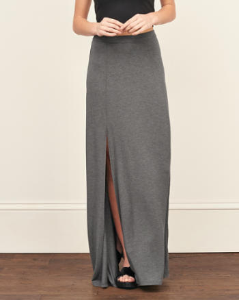 ANF Knit Maxi Skirt