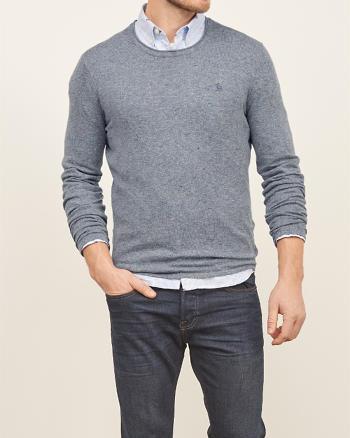 ANF Iconic Crew Neck Sweater