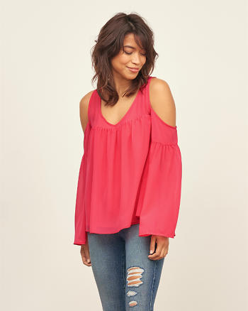 ANF Cold Shoulder Blouse