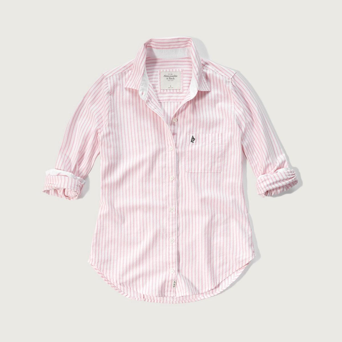 Drapey Oxford Shirt