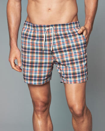 "Mens 5"" Guard Fit Swim Shorts"