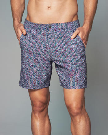 "Mens 7"" Tailored Trunk Fit Shorts"