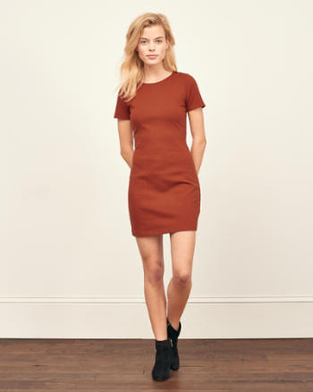 Womens Bodycon T-Shirt Dress