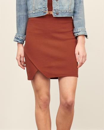 ANF Ponte Bodycon Mini Skirt