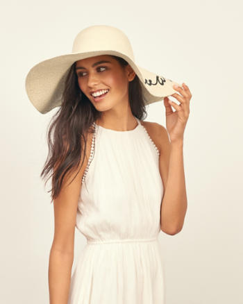 Womens Come Sail Away Floppy Hat