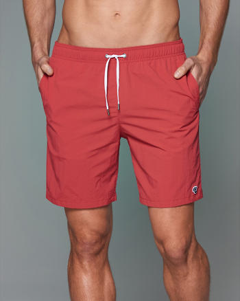 ANF 7'' Trunk Fit Swim Shorts