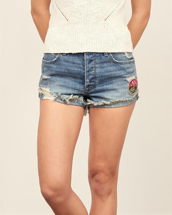 ANF High Rise 2 Inch Shorts
