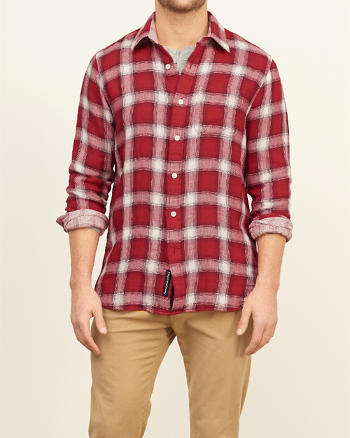 ANF Classic Fit Duofold Shirt