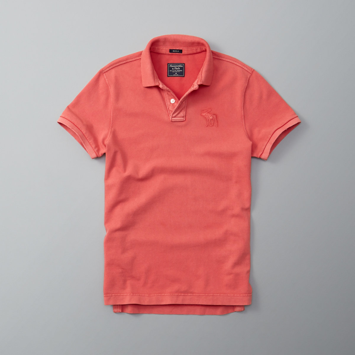 Washed Exploded Icon Polo